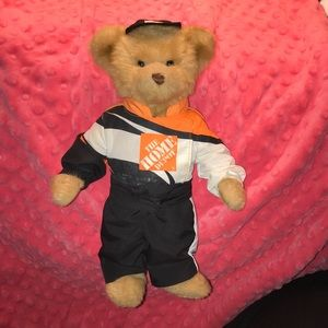 Limited Edition Home Depot Tony Stewart Race Bear